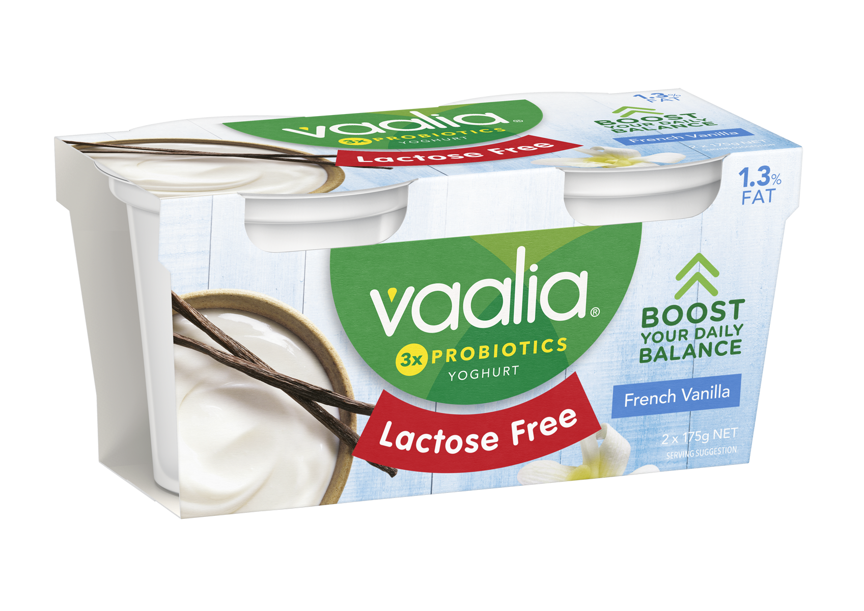 Vaalia LF Twin Pack 3D French Vanilla