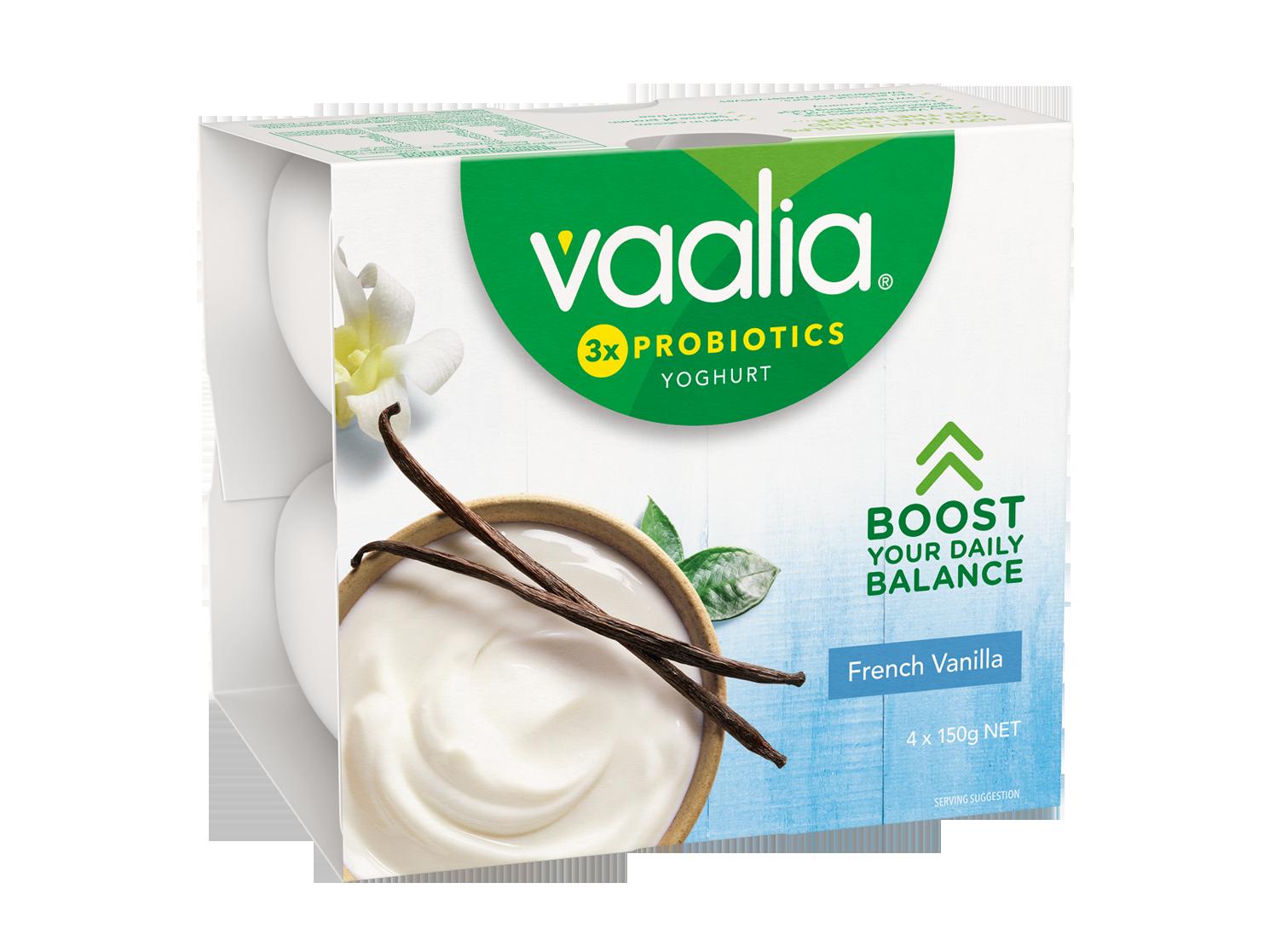 Vaalia Vanilla 4x150g