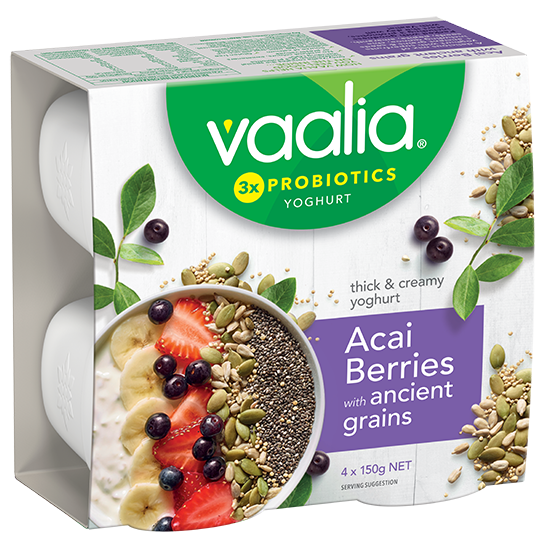 Vaalia_4x150g_Acai Berries_Angle large