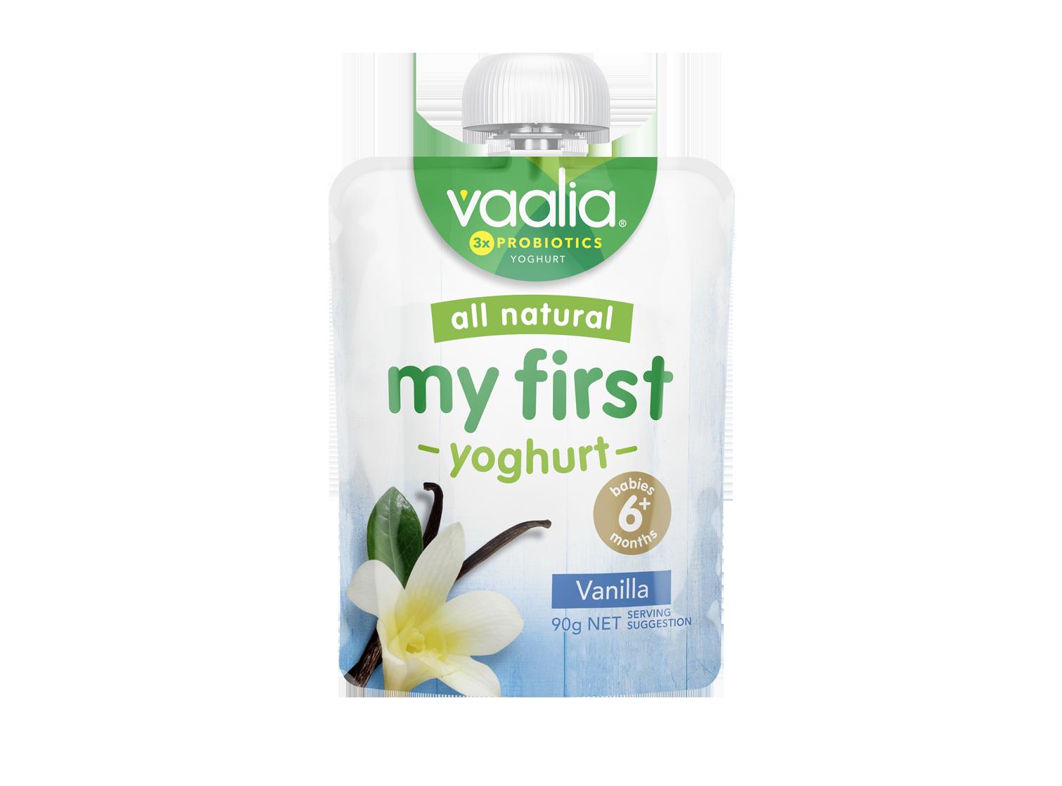 Vaalia My First - Vanilla 90g